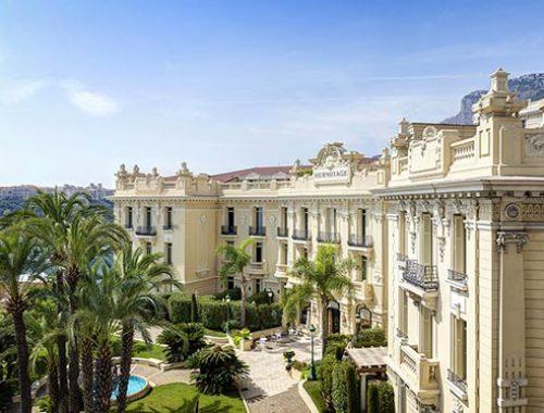 Hôtel Hermitage – Façade Excelsior